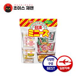 NISSIN 닛신 미니컵 인기 5아이템 백 / 일본매장직송 / 일본라면/ 일본컵라면