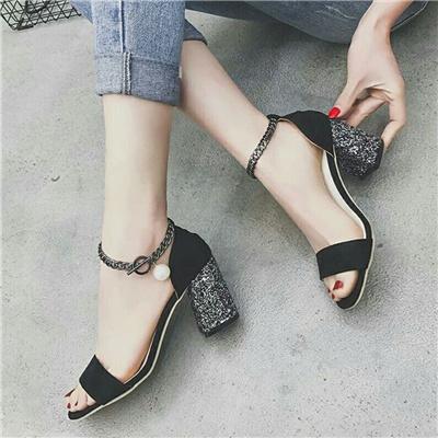 519ce2535d6 NEW ARRIVAL    Elegant high-heeled sandals female new thin women sandals  korean street