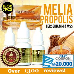 MELIA PROPOLIS PT.MSS / PT.MNI - BELI 1 DAPAT 7 !! TERLARIS DENGAN REVIEW 1300++ ORIGINAL ITEMS.