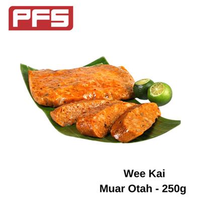 [Wee Kai Chunky Muar Otah]-250g/pkt