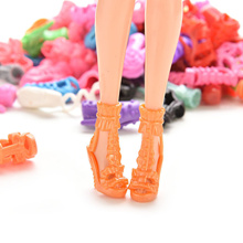 15/30/60 Pairs Doll Shoes Sandals for Barbies Color Random Different Styles