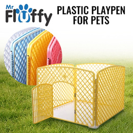 Plastic Playpen for Pets / Cage for Pets / Pet Fence / Dogs / Cats / Rabbits