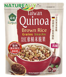 BROWN RICE SUPERFOOD GRAINS SNACKS CEREAL WITH QUINOA