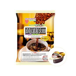 【일본 인기 곤약젤리】만난라이프 곤약젤리 커피맛 12개입