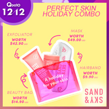 [Sand and Sky] Perfect Skin Holiday Combo (Porefining Face Mask + Exfoliating Treatment)