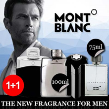 1+1 Retail Packaging Perfume Starwalker MontBlanc for men EDT spray 75 ml / LEGEND 100ML