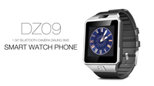 【3Months Warranty】DZ09+ Black Silver Bluetooth Touch Screen Built-in Camera and SIM Slot Notification Smart Watch