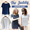 [The Juddy] ◆2015 New arrival S/S Japan Shirt◆ High Quality- design differentiated-Casual-OffieLook-Chiffon-Blouse-Shirt-