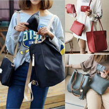 4 in 1 shoulder bag Korean version of the small backpack/ Tote Bag