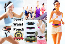 [BUY 5 IN 1 SHIPPING] Waterproof Sport Pouch Waist Bag Running Cycling Gym