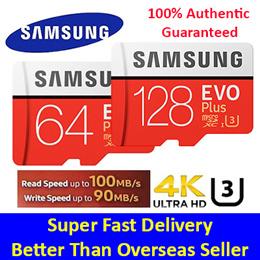 SAMSUNG Micro SD Card SDXC 64/128GB EVO Plus U3/Class 10★100% Authentic Guaranteed★