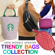 Nylon Bag Collection - Shoulder Bag - 4 Models - Best Seller