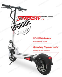 Speedway 4 - Upgraded Version /  Electric Scooter / 30Ah / Minimotors ( Export Set )