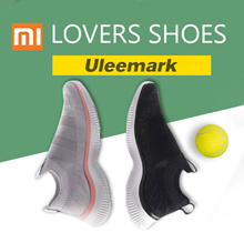 Xiaomi ULEEMARK walking shoes leisure couple flying woven upper soft breathable light casual style