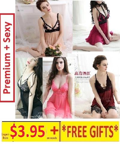 51a6bd180f  MayfairShoppe 💝CHEAPEST+FREE GIFTS💖 Lingerie Sleepwear Nightwear Local  Stock