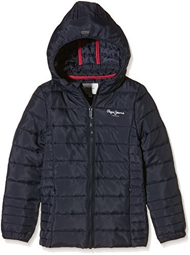 buy online 13d4f 2d002 Direct from Germany - Pepe jeans girls coat JANETE (Size:8(FR)| Color: Blue  (ink 591))