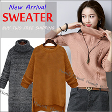 2018 New Arrival Winter Sweater Thermal Jacket Korean version of womens sweaters simple