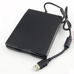 "USB2.0 External Portable 1.44MB 3.5"" Slim Floppy Disc Disk Drive Win7 64"