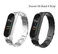Mi Band 4 Strap Metal Stainless Steel Xiaomi Mi Band 4 Strap Bracelet Miband 4