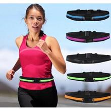 Running and Marathon Waist Bag Mobile BeltMulti-purpose Pouch(Black)