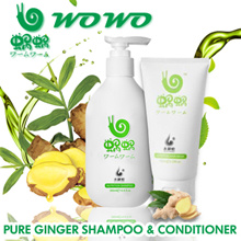 100% AUTHENTIC!!! WOWO pure ginger shampoo health hair formula Shampoo and conditioner