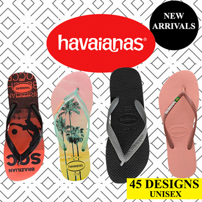 Havaianas Girls Top Disney Orange Cyber Flip Flops Summer Shoes