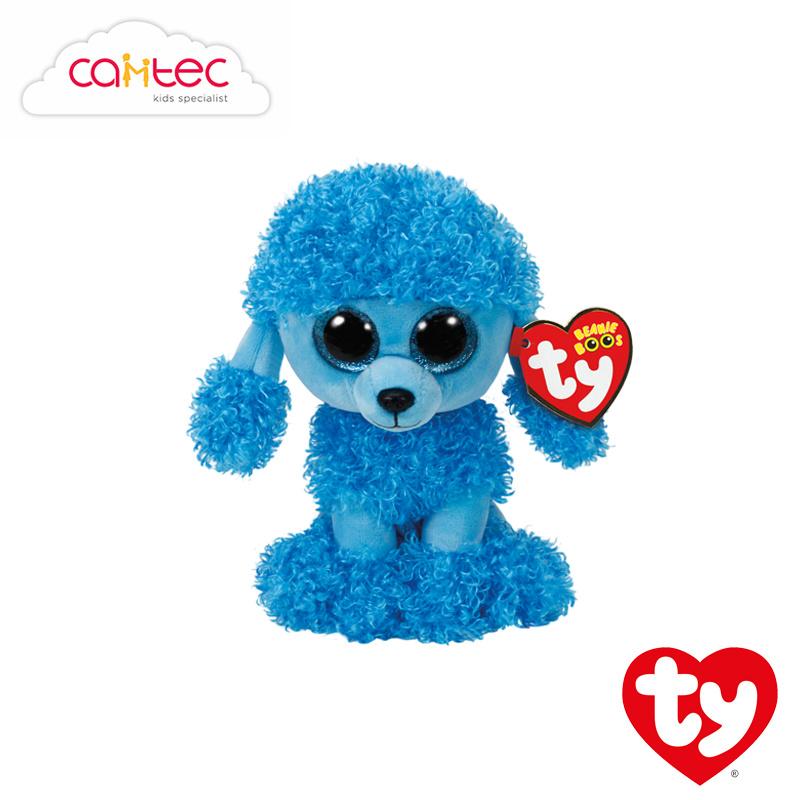 51bff91096b Qoo10 - TY Beanie Boos 6in Reg - MANDY - Blue Poodle Reg  36851   Toys
