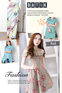 FREE DELIVERY - LIMITED STOCK - BATIK COLLECTION - BLOUSE - DRESS - CULLOTE