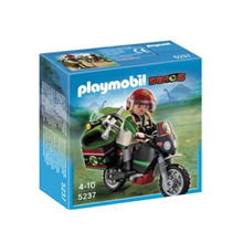 Playmobile 5237 Motorcycle Explorer