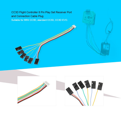 Qoo10 - 6 in 1 Connecting Cable Plug with 8 Pin Play Set