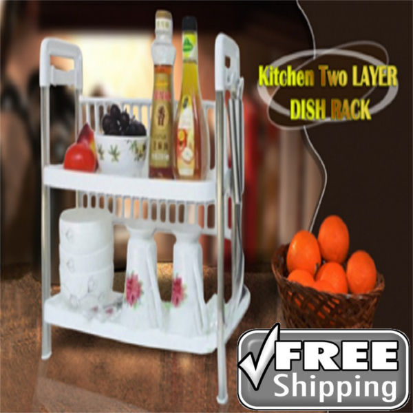 ( FREE SHIPPING ONLY JKT ) 2 LAYER DISK RACK Deals for only Rp250.000 instead of Rp250.000