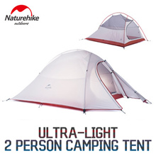 Naturehike Ultra-Light/ 2 Person Camping tent NH15T002-T / Easy / Rainproof / Outdoor / Camping
