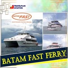 ALL IN!RETURN BATAM FAST FERRY TICKET WITH ALL TAXES INCLUDED!!!