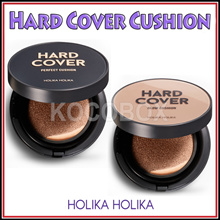 [Holika Holika] Hard Cover Perfect Cushion / Glow Cushion SPF50 + PA +++ / 2Type 4color Include Refil