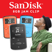 [Funky Creations] Sandisk Clip Jam Sandisk Clip Sports 4GB 8GB with 1 Year warranty