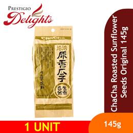 【ChaCha Roasted Sunflower Seeds Original/Spiced 145g】Premium Quality Delightful Taste! 瓜子