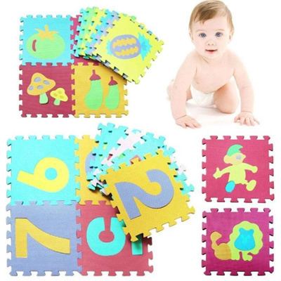 36 PCS Baby Kids Alphanumeric Educational Puzzle Blocks Infant Child Toy Gift LI