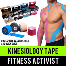 ⏰💪★★BEST VALUE★★Fitness Activist★★Premium Kinesiology Tape★★Singapore Seller★★Fast Delivery★★