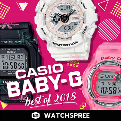 8ed8d2b239df Watchspree」-  APPLY 25% OFF COUPON  CASIO BABY-G COLLECTION! Free ...