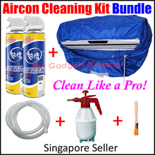 $Value Pack$【Aircon Cleaning Kit Bundle】 Clean Like a PRO | Easy To Use | Deep Cleaning | SG Seller
