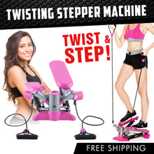 【TWIST AND STEP】💥TWISTING Stepper💥 Slimming Sports Fitness Home Gym Stepping Machine