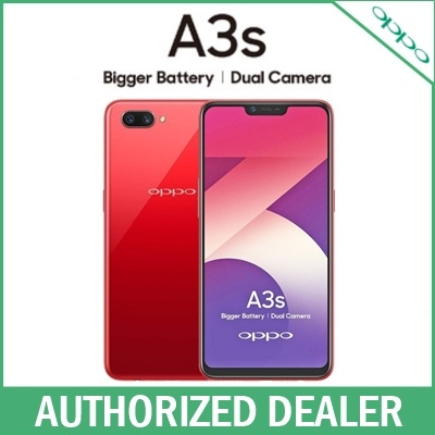 [Local Set] Oppo A3S / 3GB + 32GB / 2 Years Local Warranty