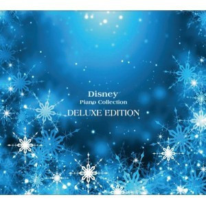 Disney collection spelled at the piano (Anna and the snow queen Let It Go  easy playing songs - lyrics card with score)