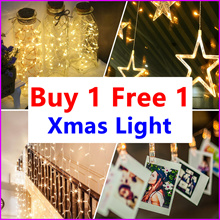 Buy 1 Get 1 Free ★ Led Fairy Lights ★ Xmas lights / Battery Operated For Party Wedding decoratior