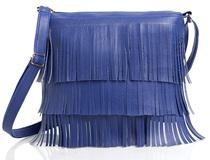 29K Women Frills (Jhallar) Sling Bag Blue