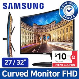 [SAMSUNG] 27 inch / 32 inch Curved Monitor FHD / C27F390 / C27F391 / C32F397 / C27R502 / C32R500
