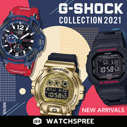 *APPLY QOO10 COUPON* *2021 New In* G-Shock Collection. Free Shipping and 1 Year Warranty.