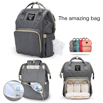 8146820791bb Diaper Bag Multi-Function Waterproof Travel Backpack Nappy Bags for Baby  Care, Large Capacity, Styli