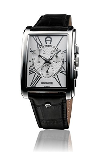 huge selection of aliexpress low price sale [Direct from Germany] Aigner Watch Black Silver A32500