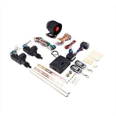 2 Car Door Remote Central Locking Kit + Anti-theft Alarm Tool Set